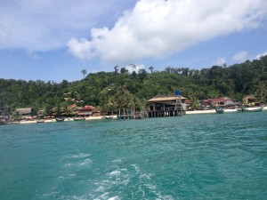 Koh Rahn main beach