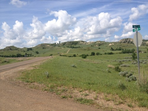 Hills of North Dakota