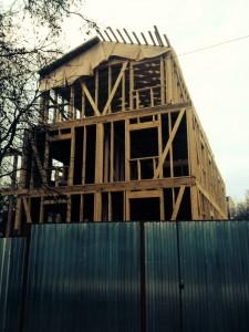 New base under construction.