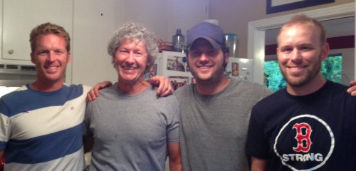 Me, Bill, Jeremy, and Nick