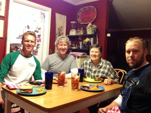 Me, Bill, Carol, and Nick. (good friends and prayer partners from church)