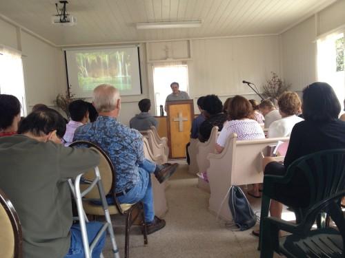 Derek Preaching 2013